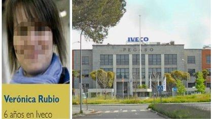 Verónica se suicidó tras saber que más de 2.000 trabajadores de su empresa habían visto un video íntimo en el que aparecía (Foto: Iveco/ElEspañol)
