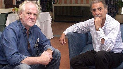Blumberg llegó a ser candidato a gobernador bonaerense junto a Jorge Sobisch (Télam)