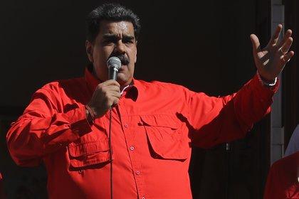 En la imagen, el dictador de Venezuela, Nicolás Maduro (EFE/Miguel Gutiérrez/Archivo)