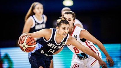 Quién es Florencia Chagas, la joya del básquet argentino que destacaba ante varones más grandes y fue elegida en el Draft de la WNBA