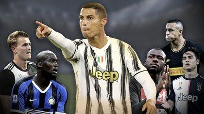 Cristiano Ronaldo, la gran figura de la Serie A