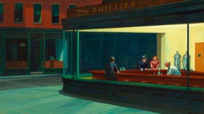"""""""Nighthawks"""", la pintura de Hopper, fue una gran influencia para """"Blade Runner"""""""