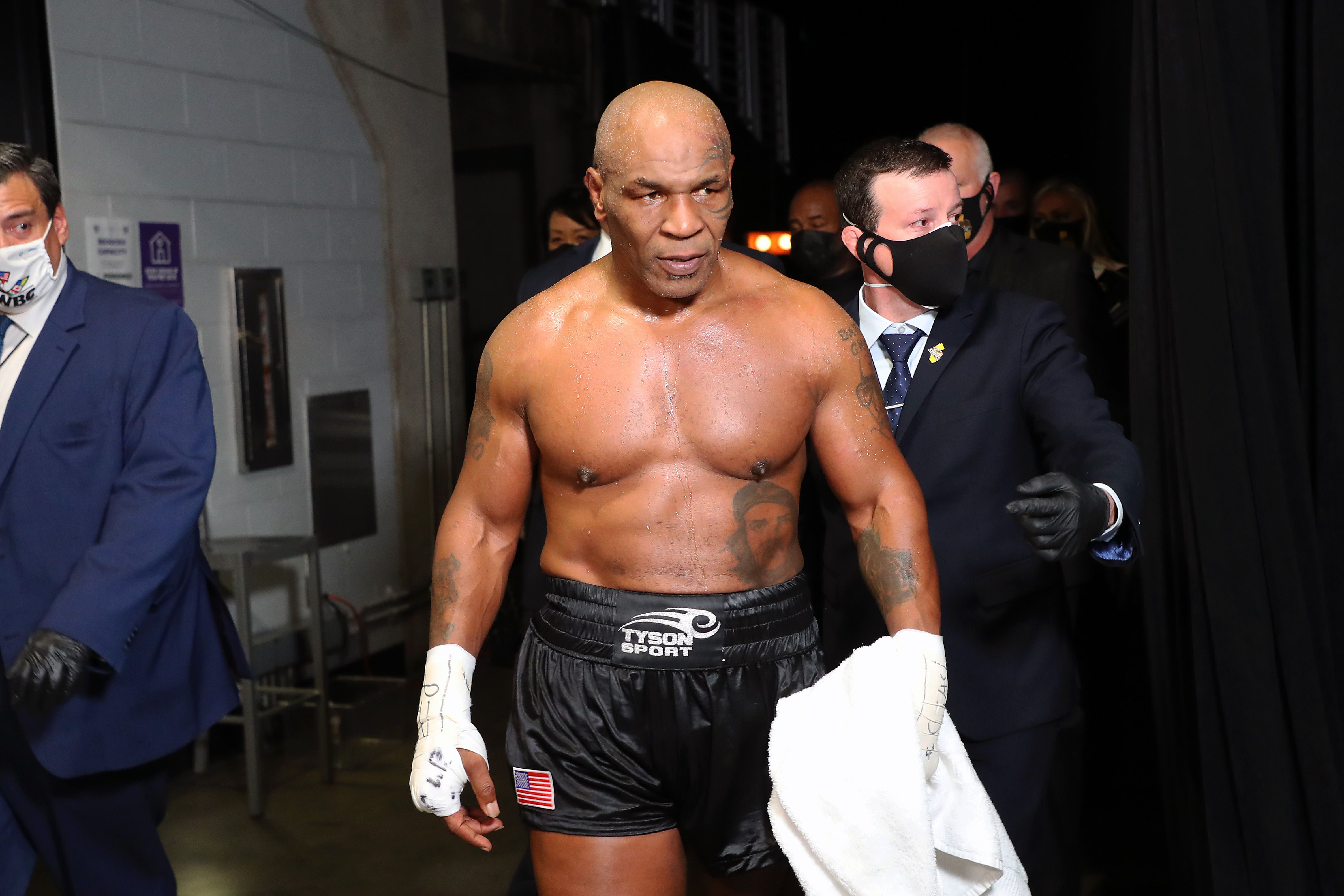 Mike Tyson reconoció que en aquella época era adicto a las drogas, el sexo y el alcohol (USA TODAY Sports)