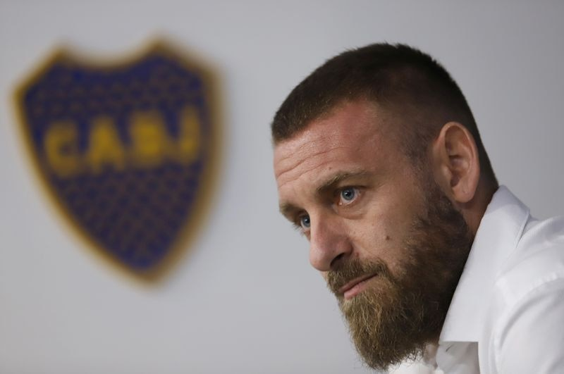 Daniele De Rossi se fue de Boca tras un semestre (REUTERS/Matias Baglietto)