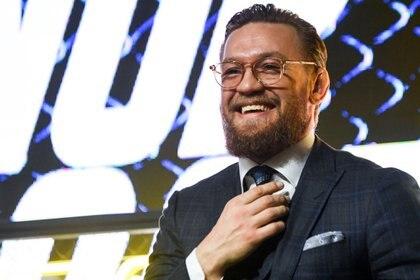 Conor McGregor se encuentra en Rusia haciendo varios eventos publicitarios (AFP)