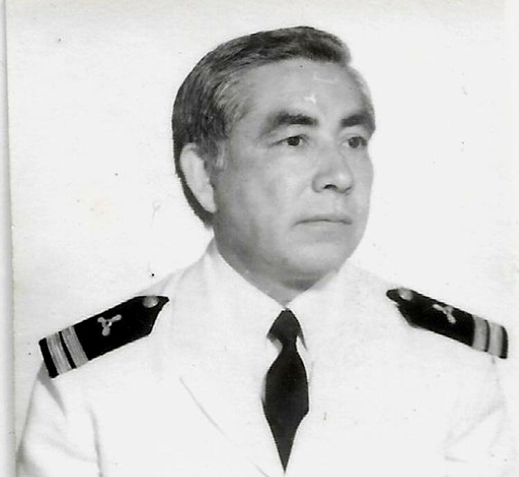 Maquinista Naval Superior Miguel Aguirre, Jefe de Máquinas del buque