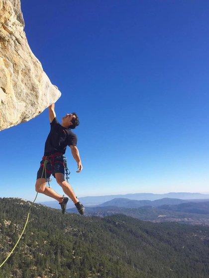 Brad Gobright falleció tras caer de 300 metros (Foto: Facebook Protección Civil Nuevo León)