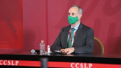 El subsecretario hizo hincapié en las notables diferencias entre las sociedad de Europa y México, razón por la que no se pueden utilizar las mismas medidas sanitarias (Foto: Gobierno de México)