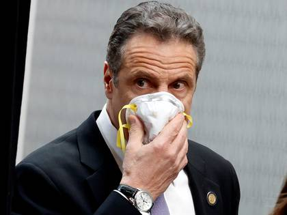 El gobernador de Nueva York, Andrew Cuomo (REUTERS/Mike Segar     TPX IMAGES OF THE DAY)