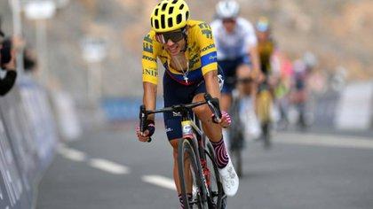 Sergio Higuita, el mejor de los colombianos en la Amstel Gold Race de los Países Bajos
