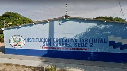 Fachada de la Institución Educativa Distrital San Gabriel, colegio de Barranquilla donde se presentó la situación / (Impacto News).