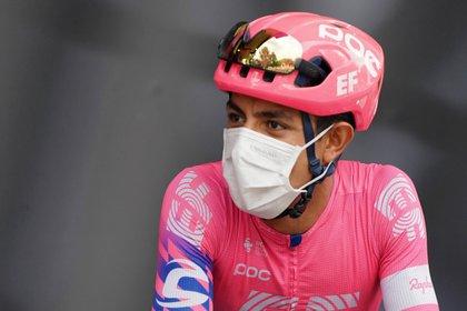 Daniel Martínez, ciclista colombiano. Foto: EFE/EPA/EDDY LEMAISTRE/Archivo