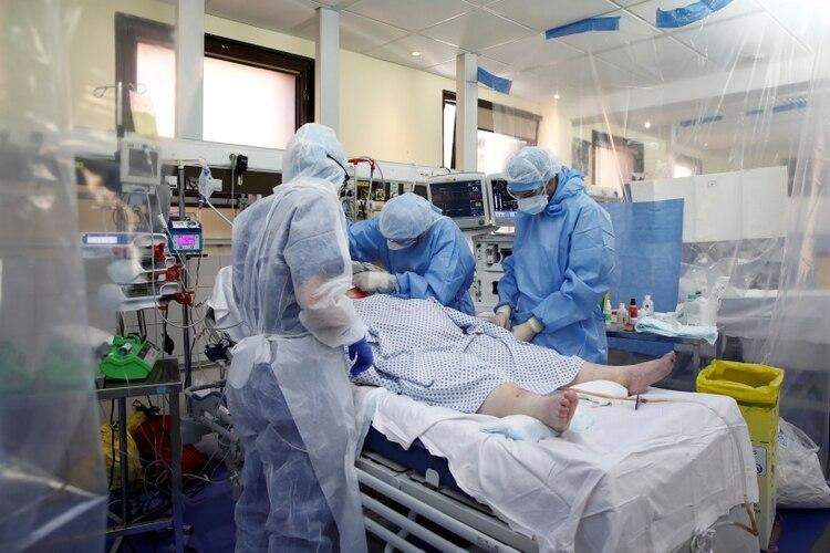La mayoría de los pacientes con sarpullido dice que no pica ni molesta (REUTERS/Benoit Tessier)