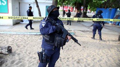 La policía de Veracruz, responsable de más de 15 homicidios cometidos por los 'escuadrones de la muerte', compró aproximadamente 6,500 armas Beretta después del 2009 (Foto: Carlos Alberto Carbajal/Cuartoscuro)