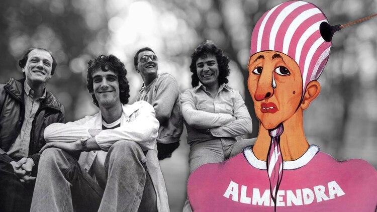 Emilio del Guercio, Luis Alberto Spinetta, Edelmiro Molinari y Rodolfo García: Almendra