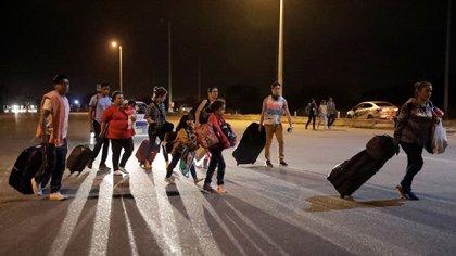 Migrantes venezolanos en Perú (REUTERS/Guadalupe Pardo/Archivo)