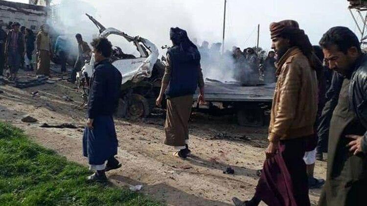 Al menos 20 muertos en un ataque con coche bomba del Estado Islámico en el este de Siria