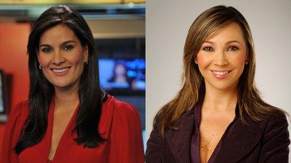 Las periodistas Vanessa de la Torre y Darcy Quinn tuvieron un fuerte altercado en Caracol Radio. Fotos: Colprensa.