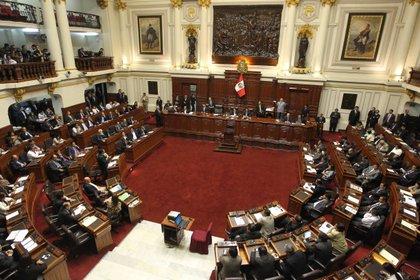 El Congreso de Perú (EFE/Paolo Aguilar/Archivo)
