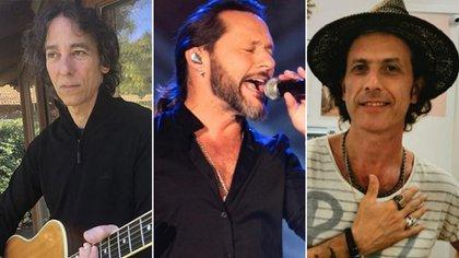 Javier Calamaro, Diego Torres y Coki Sorokin