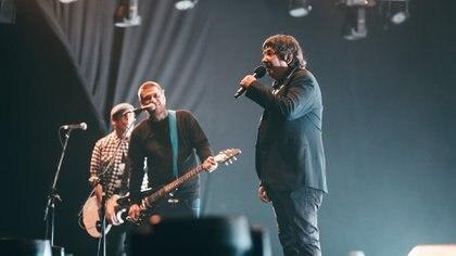 Los punkrockers de 2 Minutos dieron uno de los shows más enérgicos de la jornada (Gentileza Prensa Cosquín Rock Online)