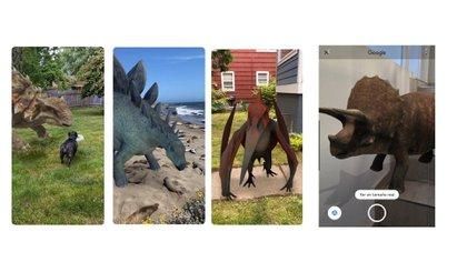 Cómo ver dinosaurios en tamaño real gracias a la Realidad Aumentada