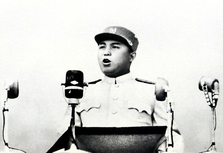 Kim Il-sung, el fundador de Corea del Norte y quien asumió la deuda con Suecia. (Reuters)