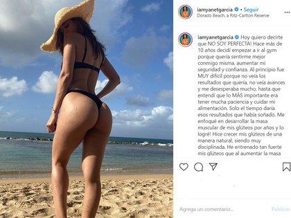 La publicación de la Chica del clima en Instagram