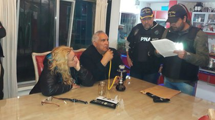 """""""Fumando espero"""". Así fue detenido ayer el sindicalista por la Prefectura"""