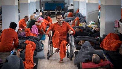 En la prisión hay cerca de 1.500 yihadistas que se encuentran heridos o enfermos (AFP)