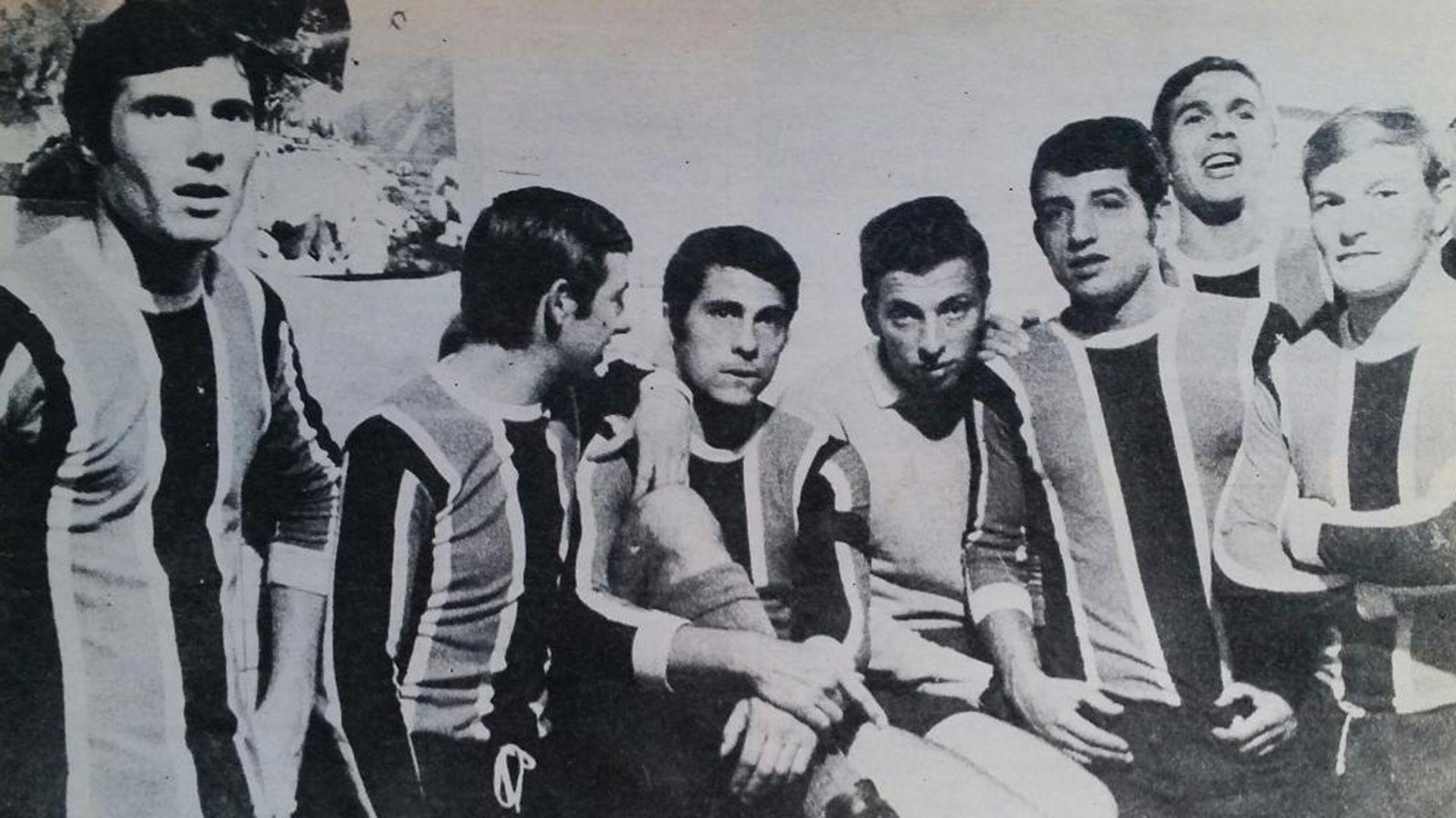 El Chacarita campeón de 1969.