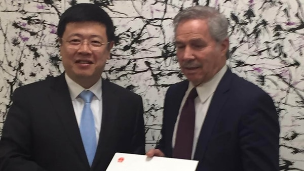 Felipe Solá recibió una carta del embajador de China en Buenos Aires donde Xi Jinping felicitó a Alberto Fernández