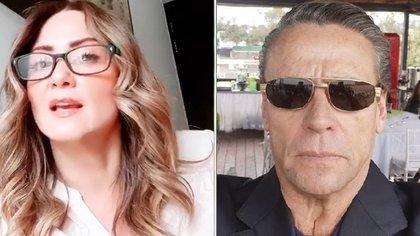 Alfredo Adame volvió a expresarse mal de Andrea Legarreta (IG: andrealegarreta / alfredoadameoficial)