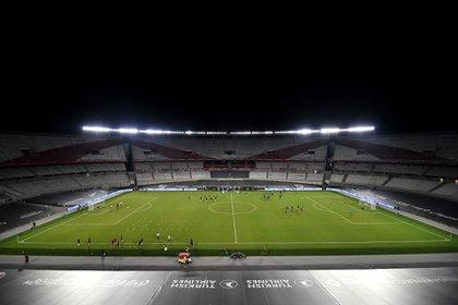 River estrenó las refacciones en el Estadio Monumental