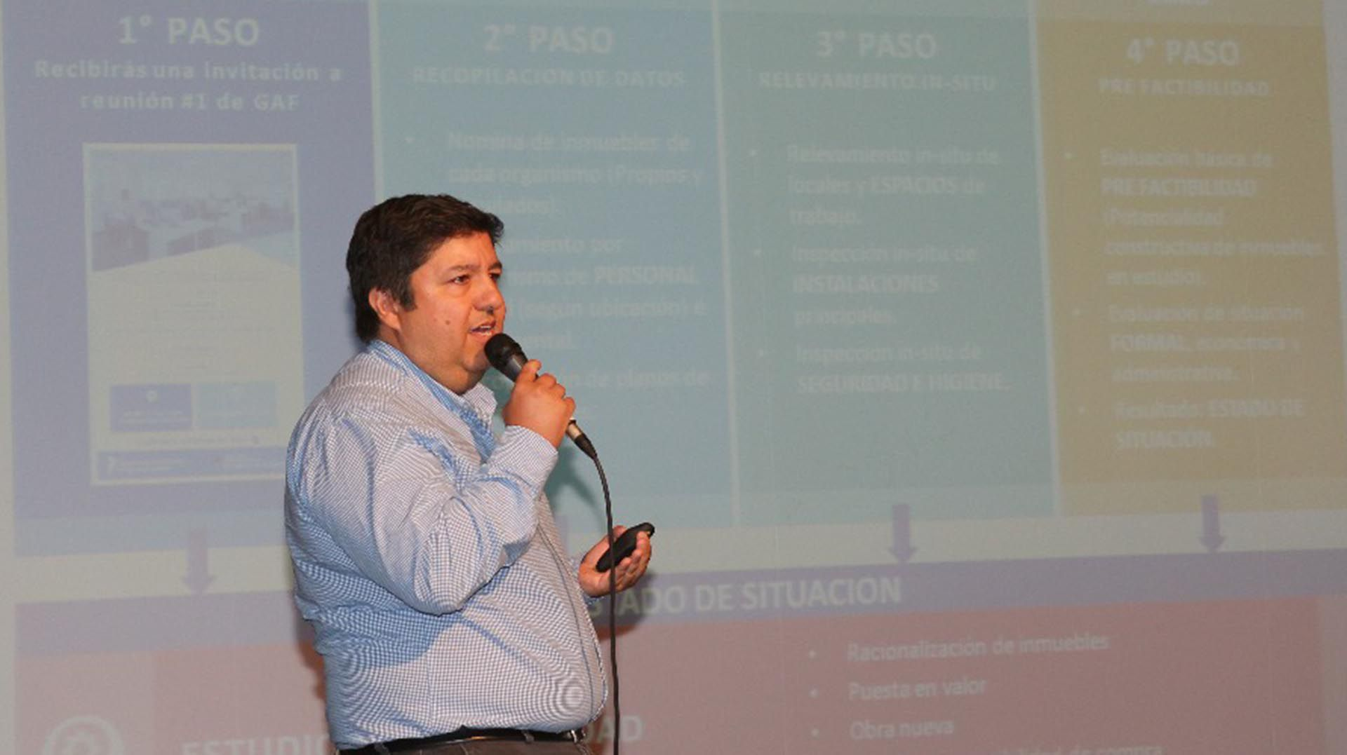 López fue designado director nacional de Planeamiento en 2016 y luego escaló a gerente de Playas Ferroviarias de Buenos Aires SA.