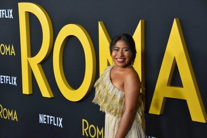 La actriz Yalitza Aparicio participa en la segunda edición de Movie Day, (Foto: Iván Mejía / EFE)