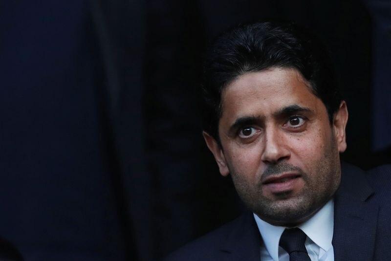 El presidente del PSG habló de sus dos referentes - REUTERS/Stephane Mahe