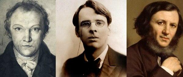 Blake, Yeats y Browning, tres autores obsesionados con el ocultismo