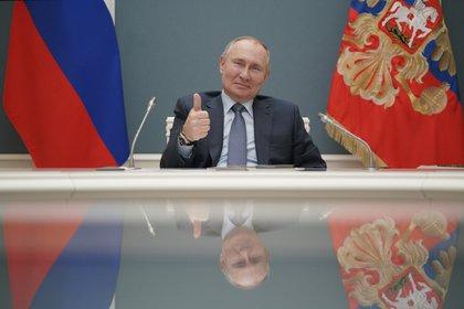 Con la reforma constitucional, el presidente Vladimir Putin también consiguió la aprobación para poder presentarse a otras dos reelecciones y permanecer en el Kremlin hasta el 2036. Sputnik/Alexei Druzhinin/REUTERS .