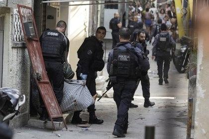 Police operation in Jakarsinho, Rio de Janeiro