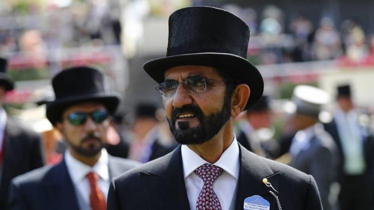 El jeque de Dubai es dueño de una de las empresas de carreras de caballos más importantes del mundo (Foto: Reuters)