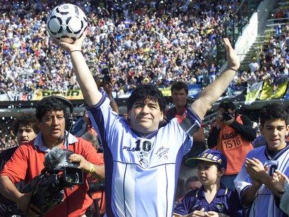 Diego Armando Maradona tuvo una relación tirante con Luis Ventura (FotoBaires)