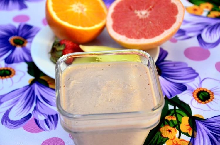 Helado de banana, cacao y yogurt (Matías Arbotto)