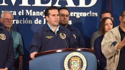 Ricardo Rosello, gobernador de Puerto Rico (EFE)