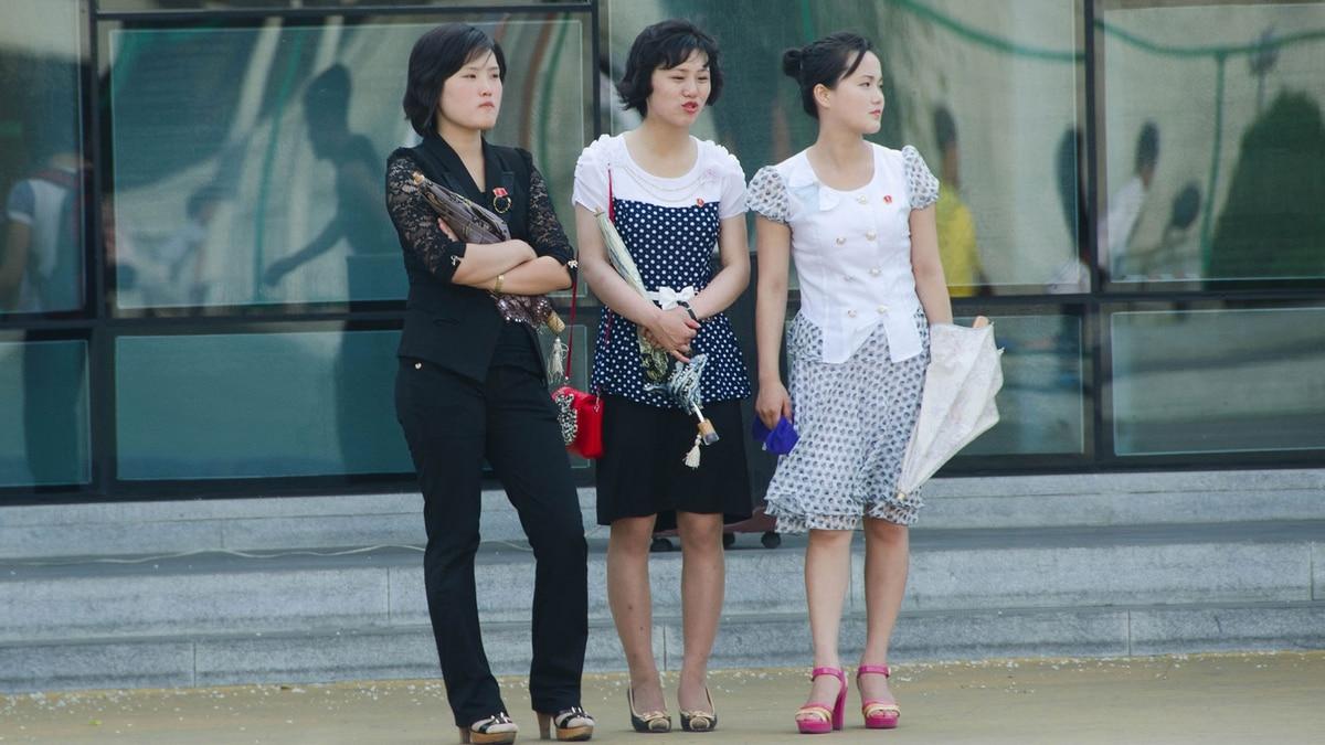 4e4f61b92c La moda en Corea del Norte  un secreto a voces en todo el país salvo en  Pyongyang - Infobae