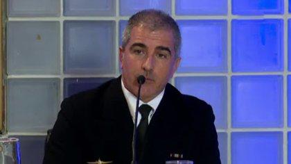 Para el auditor militar, el capitán de fragata, Hugo Miguel Correa, entonces Jefe de Operaciones del Comando de la Fuerza de Submarinos, es uno de los presuntos responsables del siniestro del buque de guerra.