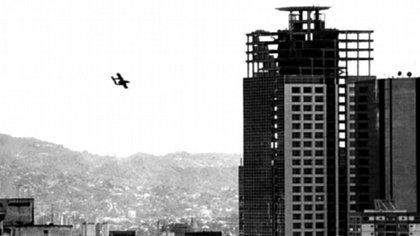 El vuelo de un avion Bronco el 27N