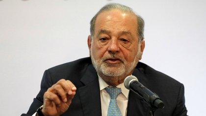 El multimillonario mexicano Carlos Slim fue propuesto a la medalla Belisario Domínguez (Foto: Reuters)