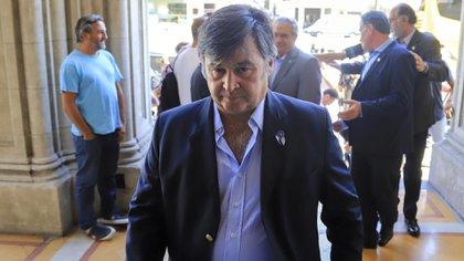 Daniel Pelegrina, presidente de la Sociedad Rural Argentina (Foto: Juan Vargas)