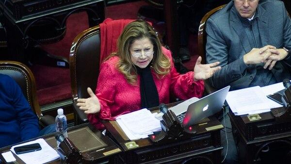 Graciela Camaño se queda con una de las bancas en el Consejo de la Magistratura por la oposición (Manuel Cortina)